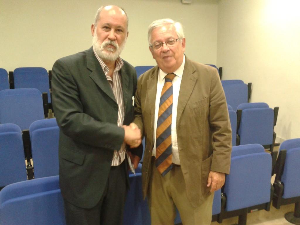 Foto con Fernando Jáuregui en la presentación de E2020